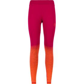 La Sportiva Patcha Leggings Women Beet/Lily Orange